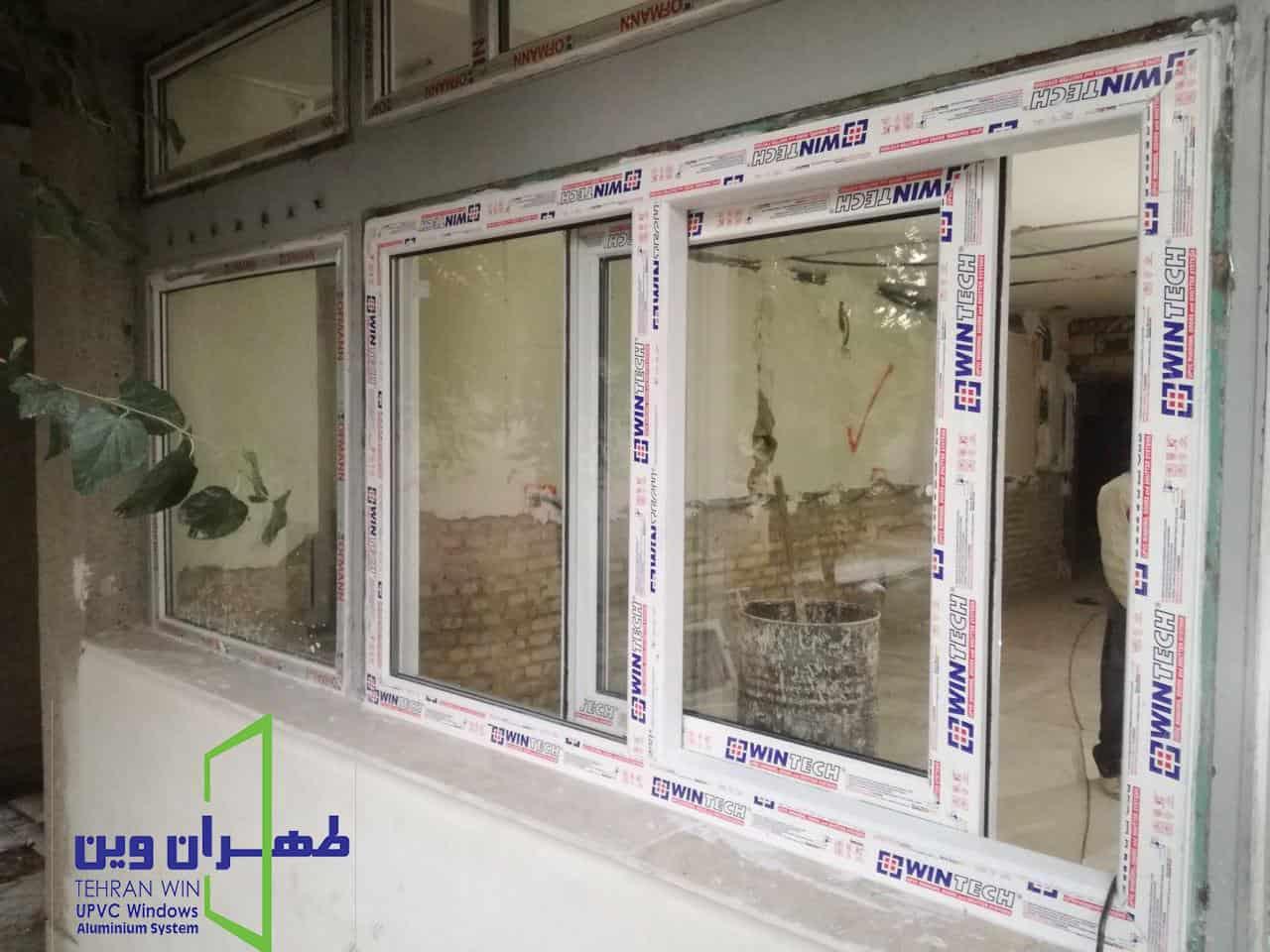 قیمت پنجره دو جداره وین تک