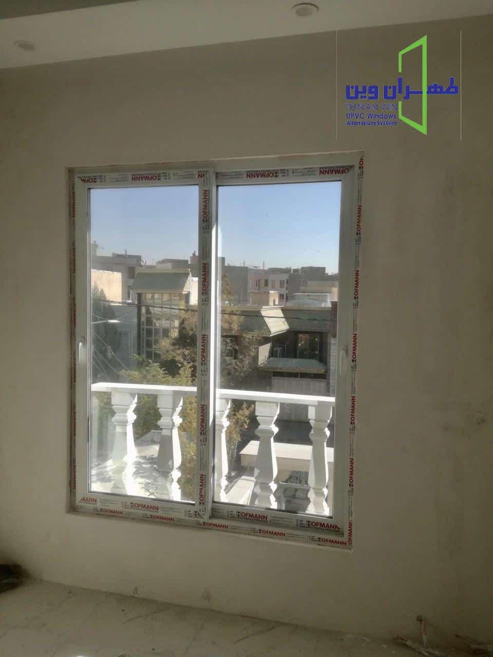 قیمت پنجره دوجداره هافمن